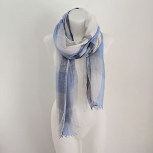 NORDSTROM Modal Silk Blend Scarf, Blue